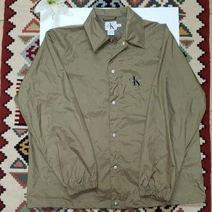 Vintage 90s Calvin windbreaker jacket, size XL.